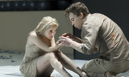 Michael C Hall, who will reprise his role as the alien, Thomas Newton, with Sophia Anne Caruso in the New York staging of Lazarus.