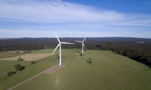 Hepburn Wind turbines in Hepburn Shire