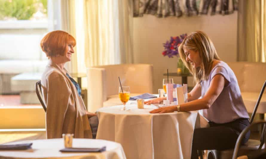 Mother's Day: Julia Roberts and Jennifer Aniston (right) as the Voice of the Dumped