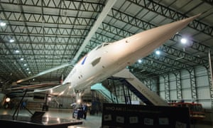 Inside the Concorde Experience hangar