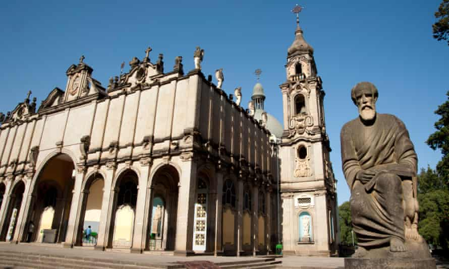 Kiddist Selassie (Holy Trinity) Cathedral in central Addis Ababa.