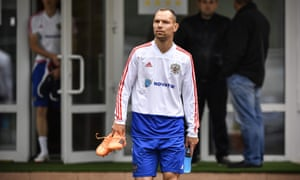 Sergei Ignashevich, who will turn 39 during the World Cup, had retired from international football but is now likely to start at centre-back.