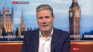 Keir Starmer on BBC Breakfast