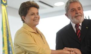 Dilma Rousseff and Luiz Inácio 'Lula' da Silva in 2010
