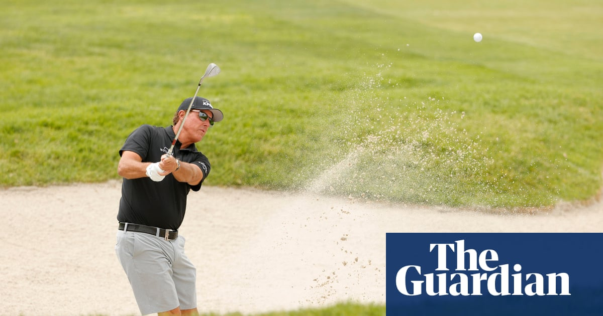 Phil Mickelson eyes career grand slam on his home course at US Open