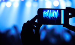 Apple gave the example of a concert venue using the technology to make sure no one bootlegs videos of the band.