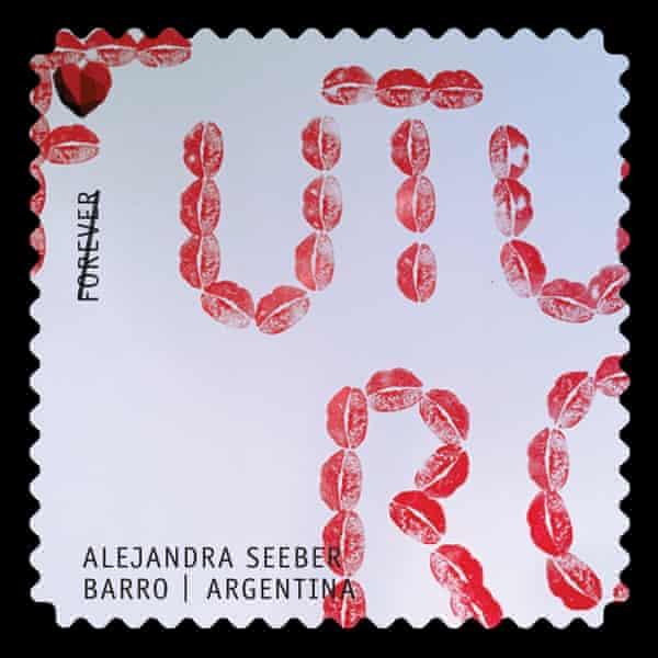 Alejandra Seeber stamp design