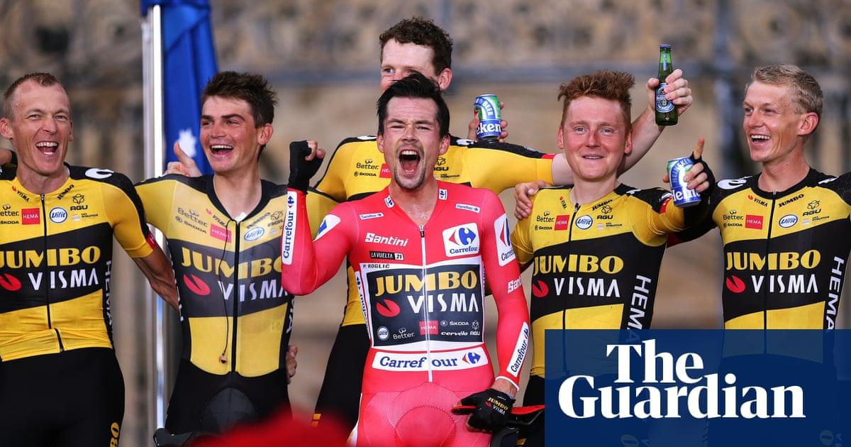 Primoz Roglic wins final stage to take third Vuelta a España title
