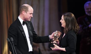 Prince William and Kathleen Kennedy.