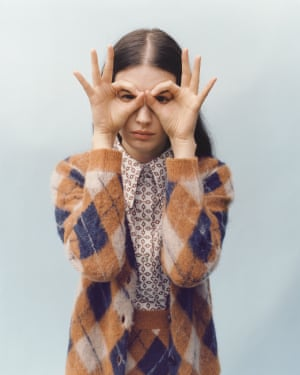 Check mateCosy up in Alexa Chung's Argyle check knitwear trio – cardigan, sweater and matching mini skirt launching this week. From £180, alexachung.com