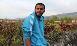 Ibrahim Halawa, near Firhouse, Dublin: 'In prison, a lack of sun has caused me many skin diseases, weak bones, weak eyes, and constant pain.'