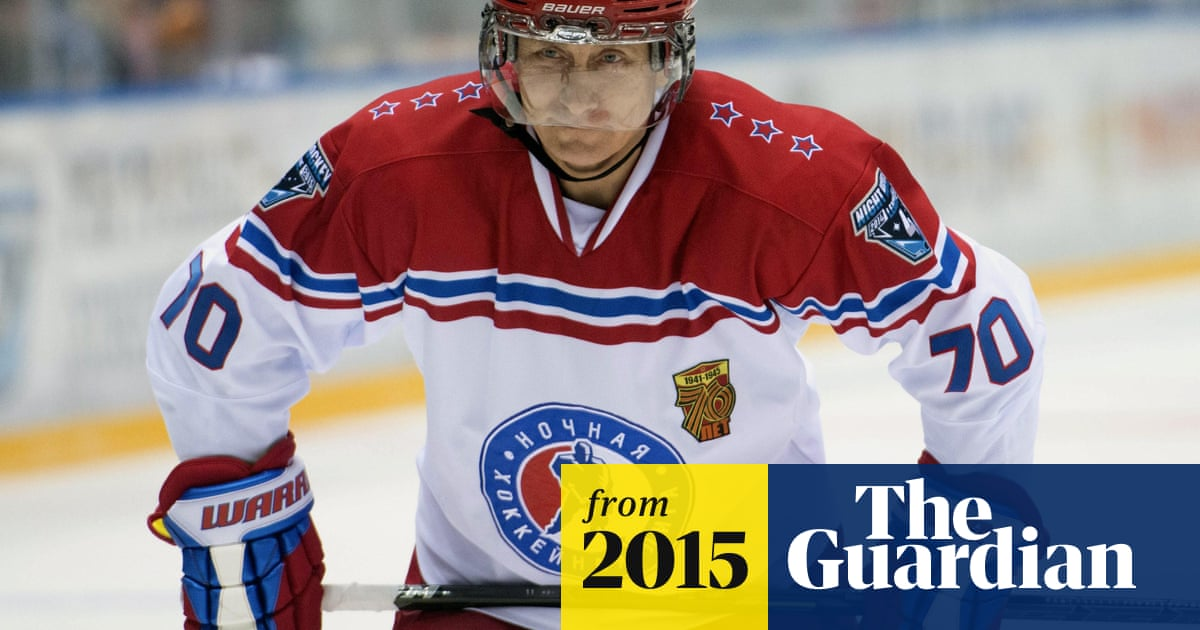 Vladimir Putin Plays Hockey With Ex Nhl Stars And Scores Eight Goals World News The Guardian