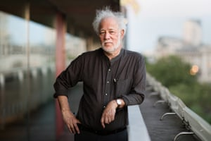 Michael Ondaatje at London's Royal Festival Hall.