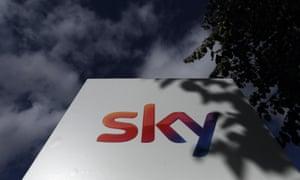 Sky plc's headquarters in Isleworth, London.
