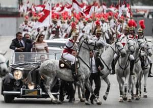 Brasilia: President-elect Jair Bolsonaro and wife Michelle