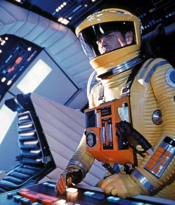 The stuff of sci-fi ... Gary Lockwood's astronaut attempts to communicate with HAL in 2001: A Space Odyssey. Photograph: MGM/Everett/Rex Features