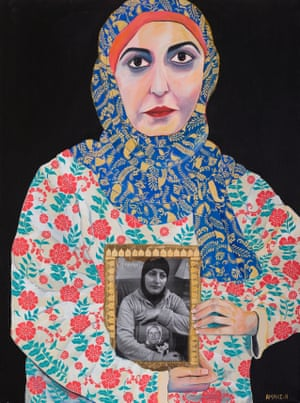 Insert Headline Here by Amani Haydar; sitter: Amani Haydar