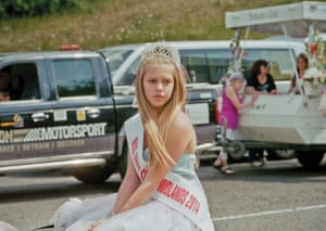 Junior Queen of the South Midlands, 2014 Sienna Blanchard -Wood