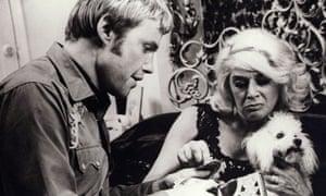 Sylvia Miles and Jon Voight in Midnight Cowboy, 1969.
