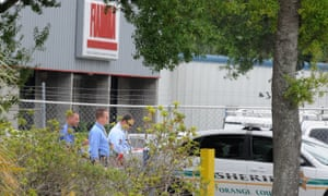 The gunman entered the premises of Fiamma, a manufacturer of awnings for recreational vehicles, at about 8am, armed with a semi-automatic pistol and a large hunting knife.
