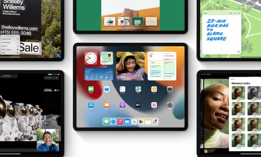 Apple's tablets