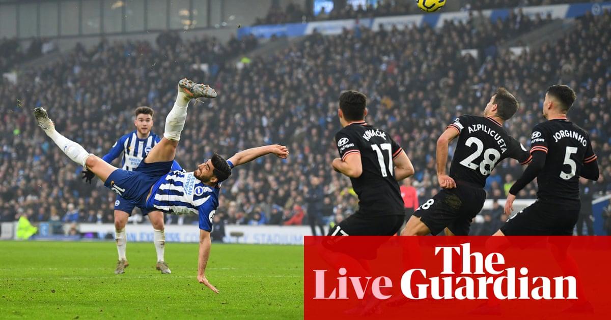 Brighton 1-1 Chelsea: Premier League – live!