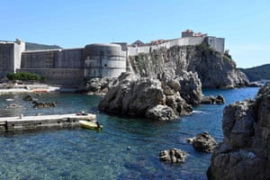 Croatia's medieval walled city of Dubrovnik