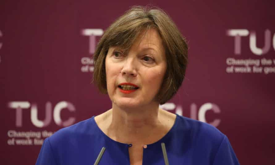 Frances O'Grady, general secretary of the TUC,