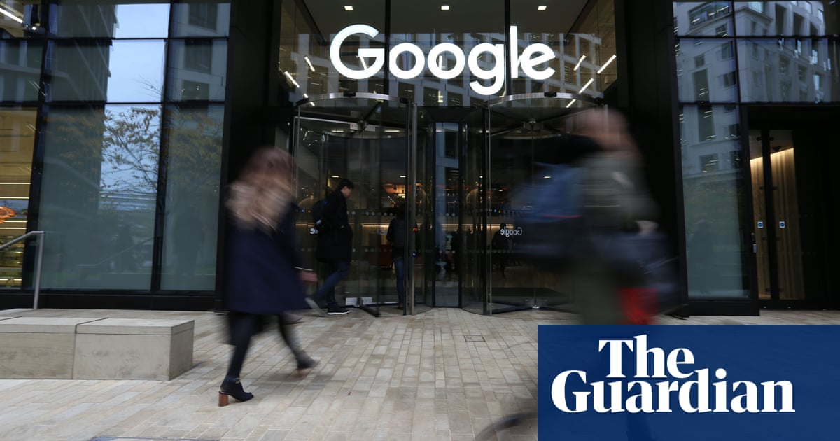 Google's UK staff paid package of £226,000 on average in 2018