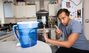 Can Rhik stand up to the Zerowater filter's self-assured masculinity?