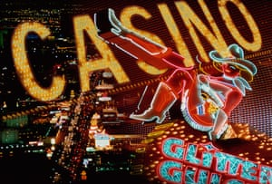 Neon 'Casino' sign, Las Vegas