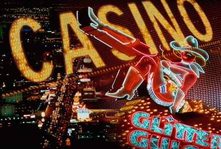 Neon 'Casino' sign, Las Vegas