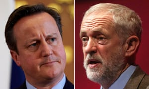 David Cameron and Jeremy Corbyn are both in charge of parties that are fighting huge internal battles.