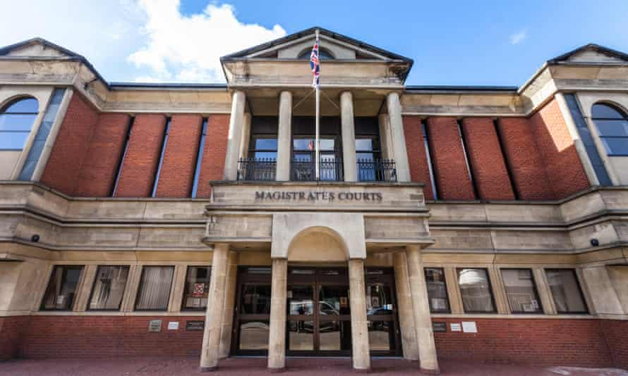 Banfield admitted a charge of assault by beating and was sentenced at Leicester magistrates court on Friday to a 14-week curfew, banning him from leaving his house between 7pm and 7am.
