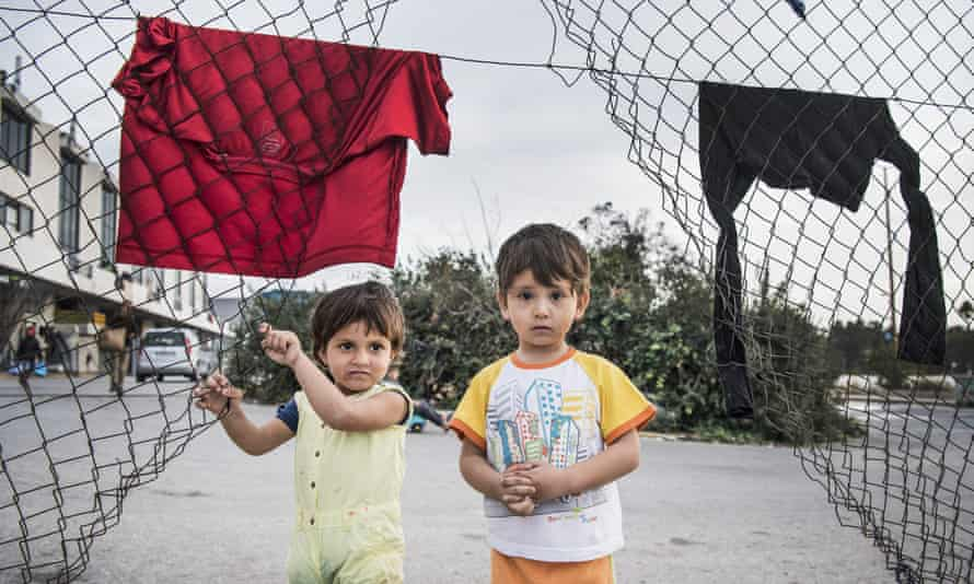 Tens of thousands of child refugees are stuck in Greece with nowhere to go.
