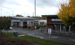 The McDonald's and Starbucks at Southgate retail park