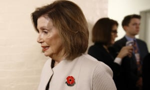 Trump dashed off an acrid letter to Pelosi, charging her with 'declaring open war on American democracy'.