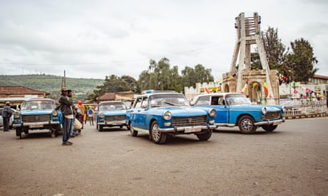 Ethiopia's vintage taxis near the end of the road