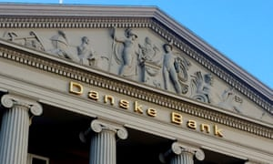 Danske Bank building in Copenhagen, Denmark