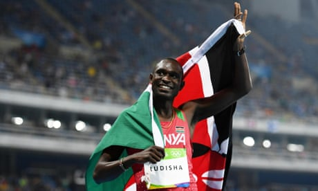 David Rudisha retains Olympic 800m title with 'greatest moment of career'