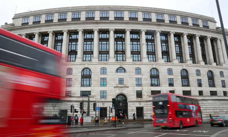 The Unilever building in central London