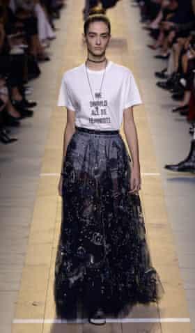Dior's spring/summer 2017 show in Paris.
