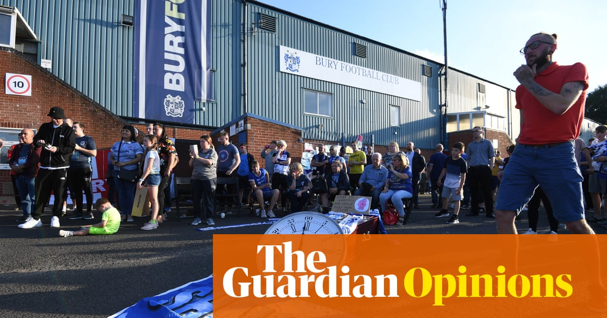 Bury's demise is a grim warning that small-town Britain is still being left behind | David Conn