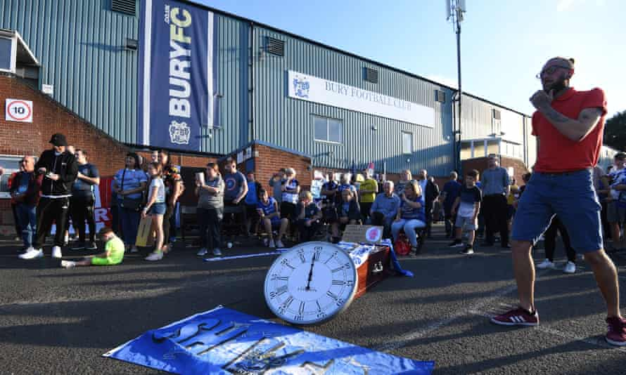 'The ruins of Bury FC expose the wider vulnerability of its surrounding town and many places like it around the country. It is hard not to see the parallels with Brexit'