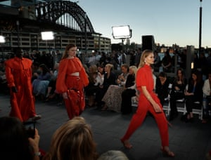 An Aje show at The Rocks