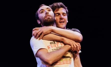 Nasi Voutsas and Bertrand Lesca in Eurohouse at Summerhall, Edinburgh festival 2016.