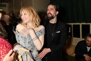 Courtney Love and Jack Guinness