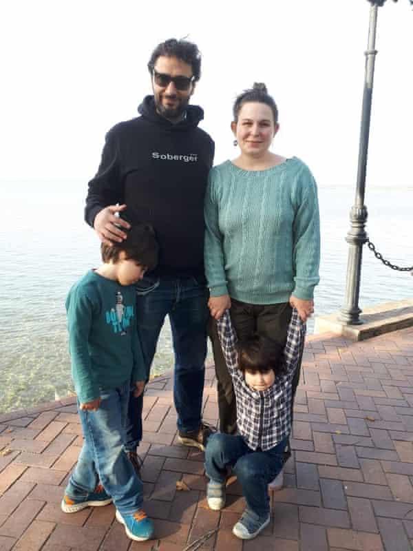 Vanessa Kogan and family