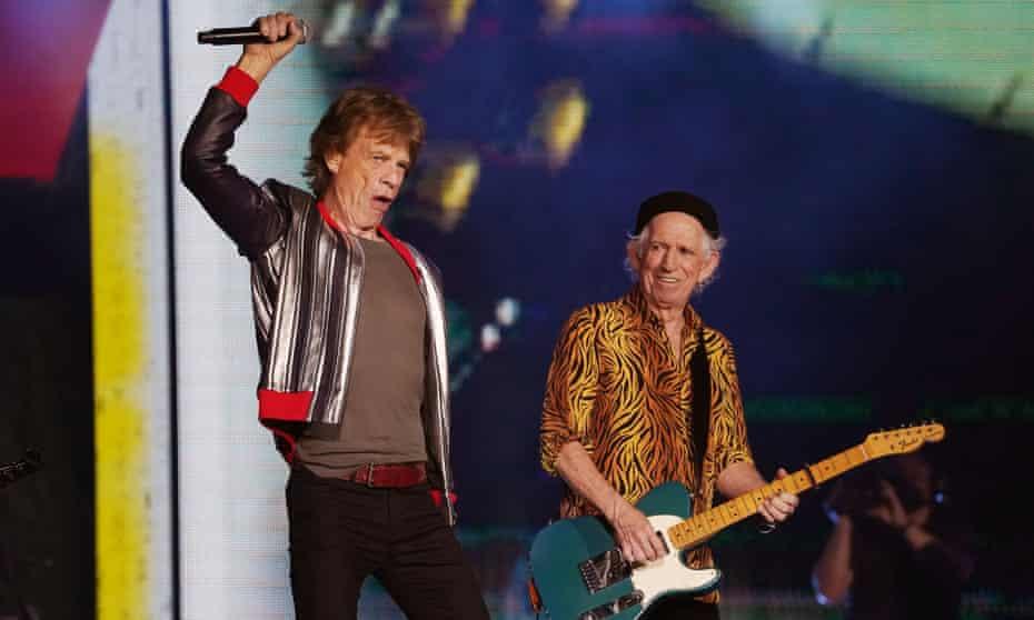 'It's been really ontroerend' … de Rolling Stones treden op in St. Louis, Missouri, 27 september 2021.