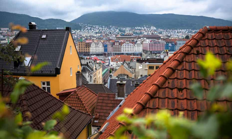 Bergen's picturesque city centre boasts timber warehouses that are on Unesco's world heritage list.